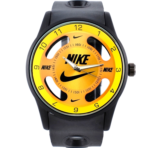 Nike Watch Sport Hollow Silicone Strap Band Unisex